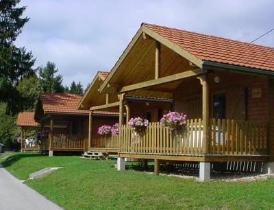 chalet camping maiche